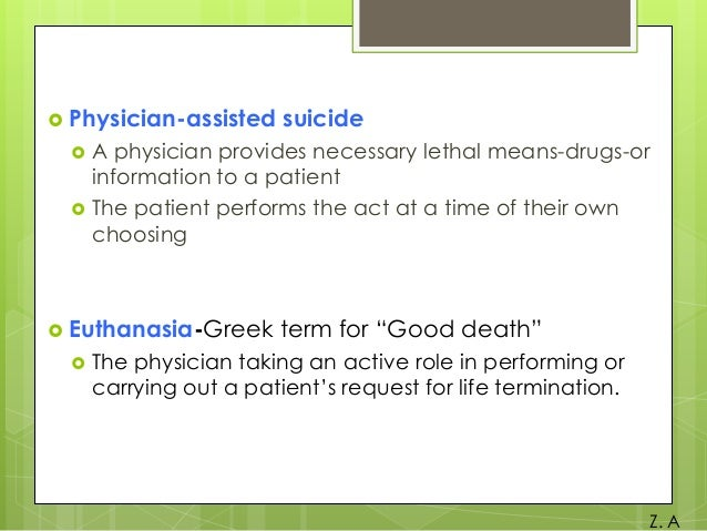 In states that allow physician-assisted suicide, which patients qualify?