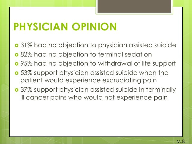physician assisted death pros and cons