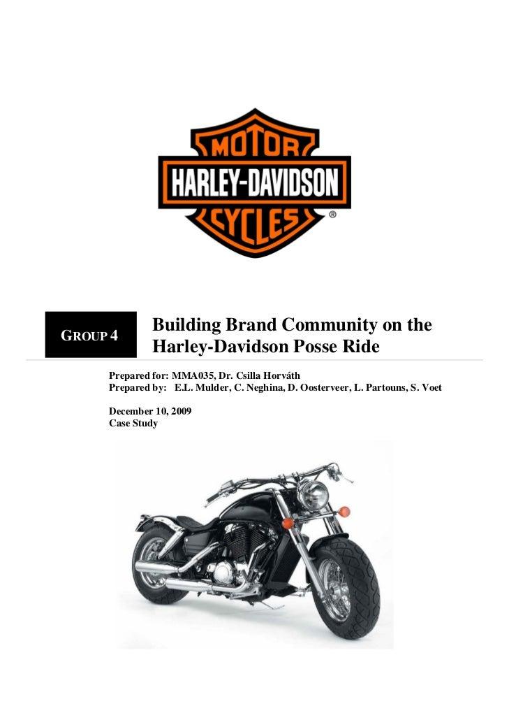 harley davidson in india case study
