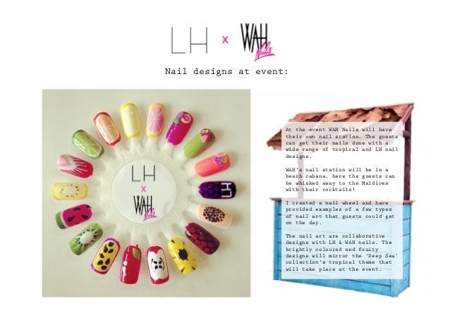 Larissa X Wah Nails Presentation