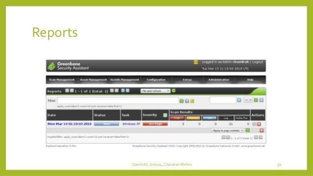Reports OpenVAS_Group4_Chandrak-Melbin 36