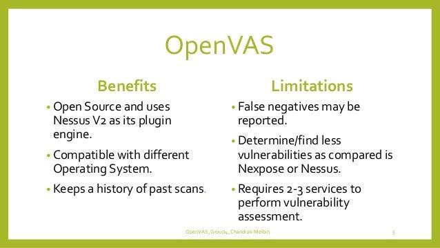 OpenVAS: Vulnerability Assessment Scanner