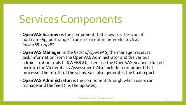 OpenVAS: Vulnerability Assessment Scanner
