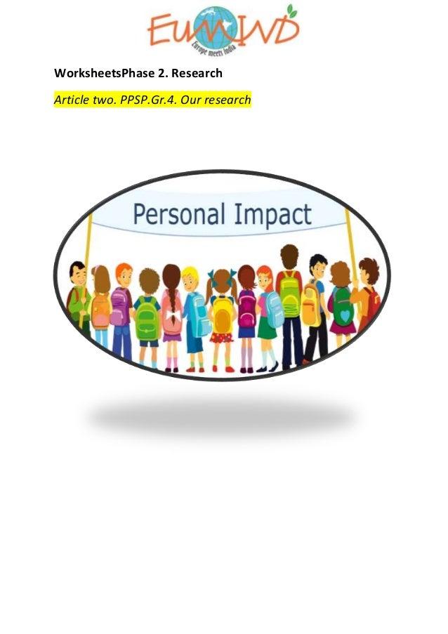 impact personal slideshare conversion