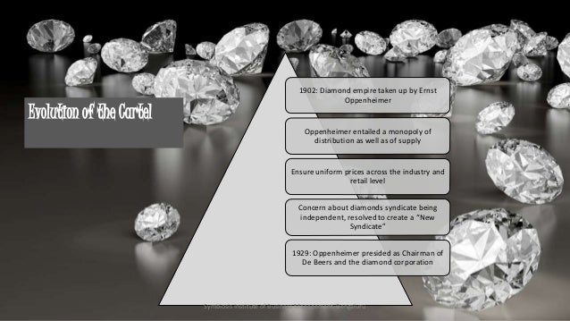 de beers monopoly De beers has two aims, they are to be the top most company of diamond seller in the market and to make the diamonds available in reality for every one.