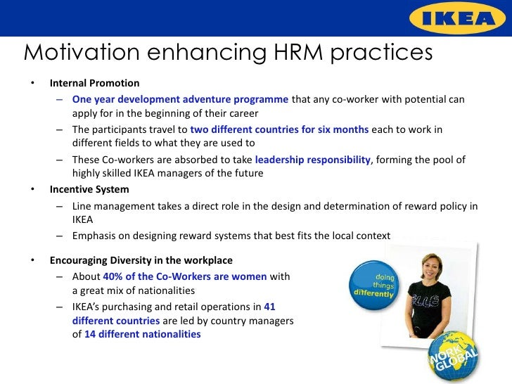 Innovative Hr Practices At Ikea