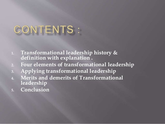 transformational leadership style Transactional leadership is a style of leadership in which leaders promote compliance by followers through both rewards and punishments unlike transformational leaders , those using the transactional approach are not looking to change the future, they look to keep things the same.