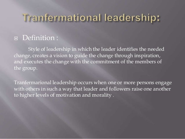 an analysis of the importance of transformational leadership in the success of an organization Transformational leadership and leader-member  a crucial function in the success of any organization  leadership essay importance of leadership in the.