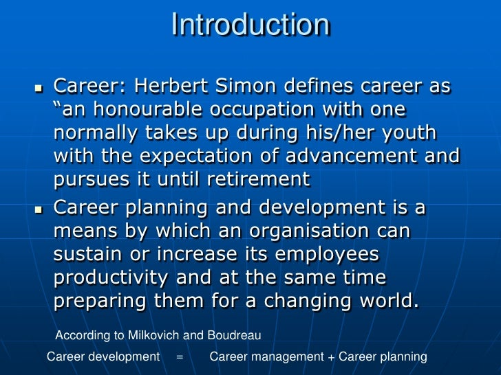 career planning Slide 3