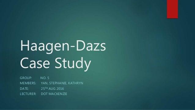 Haagen dazs case study
