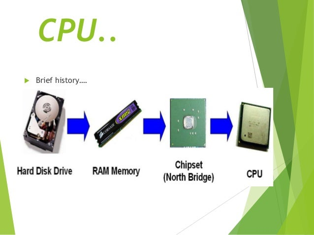 the central processing unit Each of the parts of the computer cpu (central processing unit) has a specific function to perform the components work in unison.
