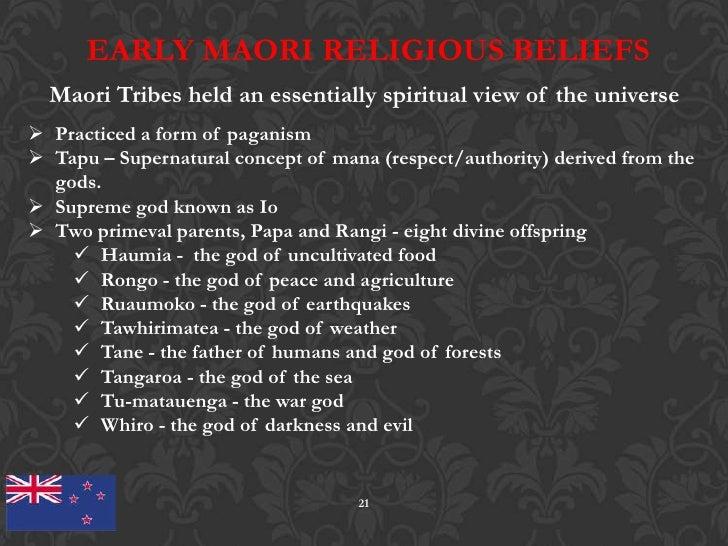 Maori Beliefs: Group 5 New Zealand Draft 5 28-12