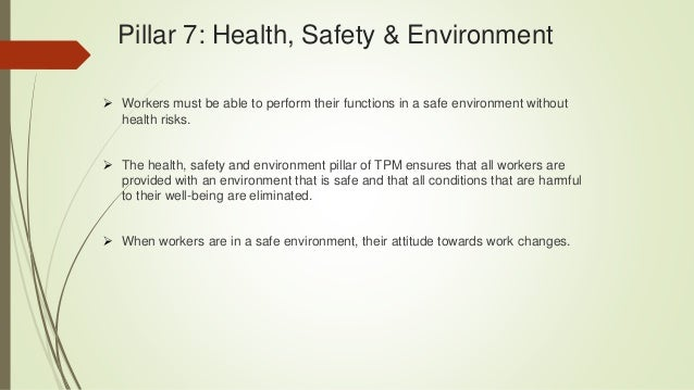Total environmental health and safety management