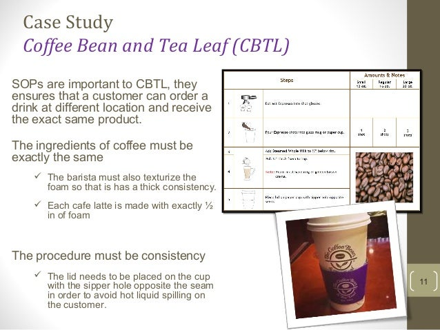Initech Versus the Coffee Bean