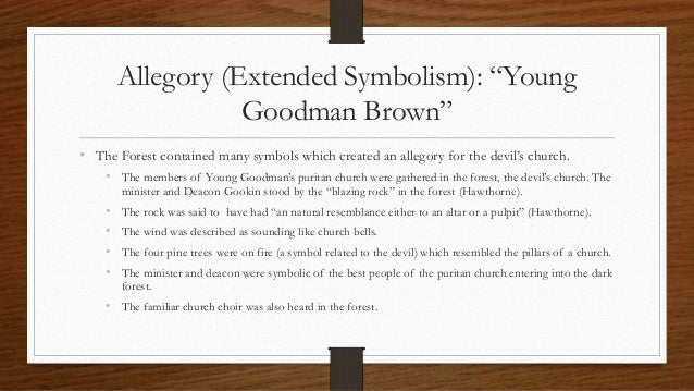 an analysis of the fight between good and evil in young goodman brown by nathaniel hawthorne
