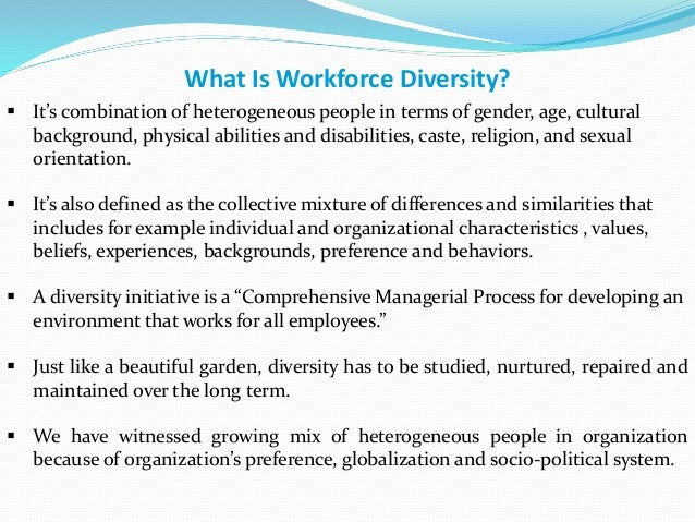 the effects of diversity on business 2 the effects of diversity on business performance: report of the diversity research network since 1996 a group of industry chief executives and human resource professionals.