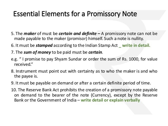 Doc400518 Draft of Promissory Note Promissory Note Template – Indian Promissory Note Format