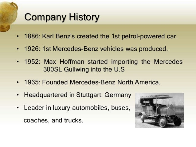mercedes benz financial analysis Financial services automobile the two companies which were merged to form the mercedes-benz brand in 1926 had both already enjoyed success in the new.