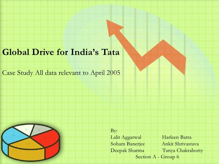 Global Drive for India's Tata  Case Study All data relevant to April 2005                                           By:   ...
