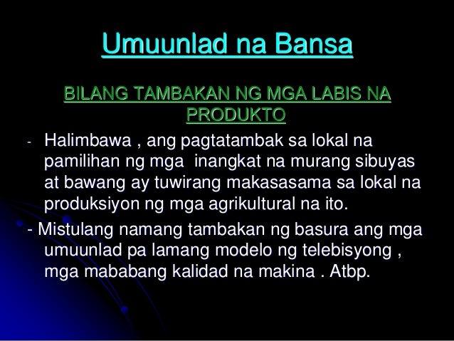 group 6 lily mga kasalukuyang isyu at suliranin bunga ng globalisasyon