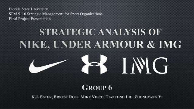 nike strategic analysis Strategic analysis of nike, inc submitted to: aj almaney, phd iss 395 depaul university chicago, il 60604 march 14, 2000 submitted by: group 1.