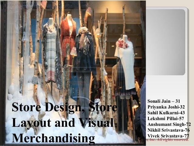 store design, store layout & visual merchandising