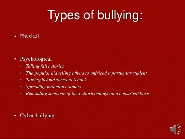 the bullying epidemic the story of Bullying is a distinctive pattern of harming and humiliating others, specifically those who are in some way smaller, weaker, younger or in any way more vulnerable than the bully.