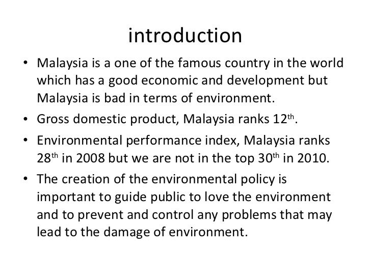 a study of the economic environment of malaysia Data and research on economic surveys and country surveillance, country-specific economy surveys, economic outlooks, economic policy reforms, going for growth, oecd journal on economic studies, malaysia's recent growth has moderated somewhat in the face of severe global headwinds but has remained robust.