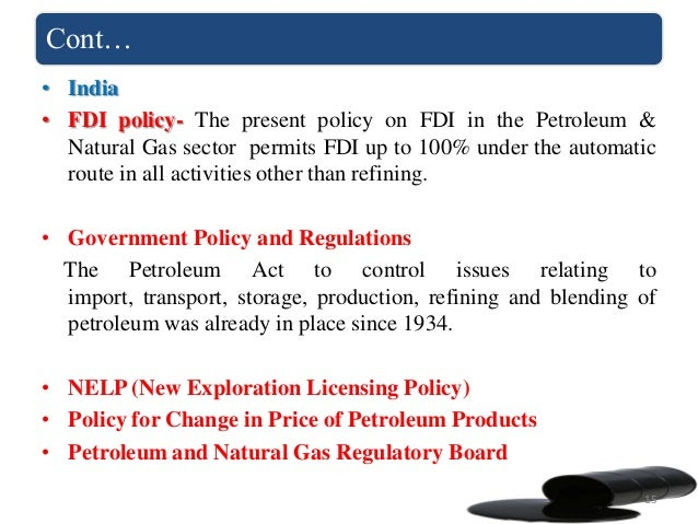 Department of petroleum resources environmental guidelines and standards for the petroleum industry