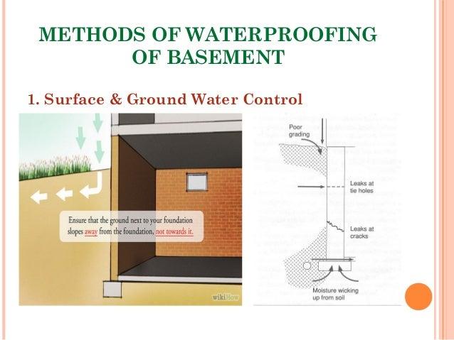12. METHODS OF WATERPROOFING OF BASEMENT ...  sc 1 st  SlideShare & Presentation on Waterproofing of Basement (Omar Faruqe HamimL2/T1Bu2026