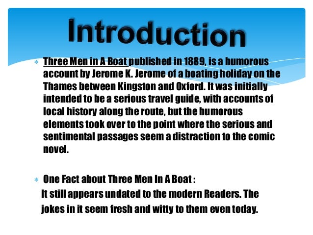 Summary three men in a boat bildergeschichte 3 klasse probe