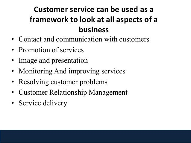 skills related to customer service