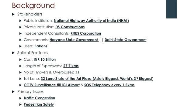 Delhi Gurgaon Expressway PPP Slide 2