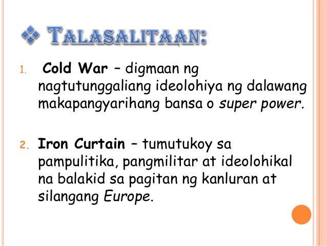 Group Lily Kasaysayan At Epekto Ng Cold War