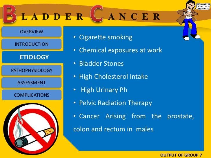 LA D D E R                A N C E R   OVERVIEW                  • Cigarette smoking INTRODUCTION                  • Chemic...