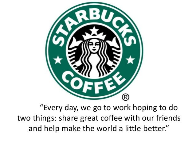 """Every day, we go to work hoping to do  two things: share great coffee with our friends  and help make the world a little ..."