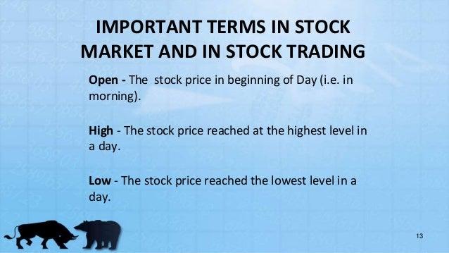 stock exchange functioning  u0026 vback office management