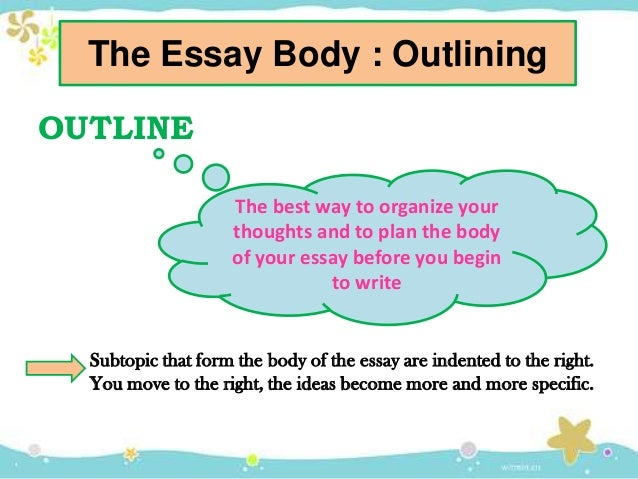 way to write an essay