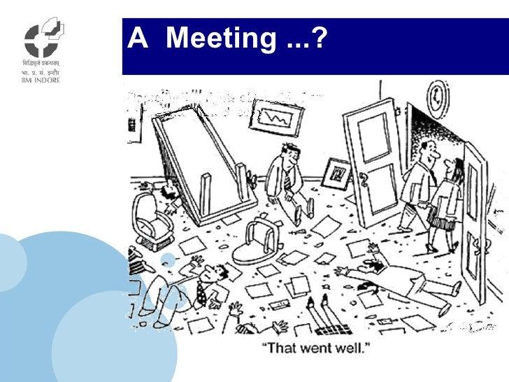 A  Meeting ...?