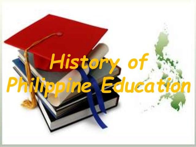 History of Philippine Education