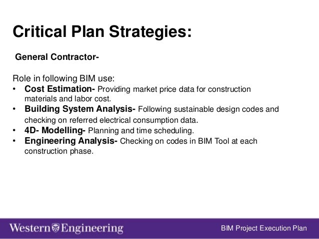 BIM Project Execution Plan; 5.  sc 1 st  SlideShare & Design of a Cold Storage Warehouse Using Building Information Modeling
