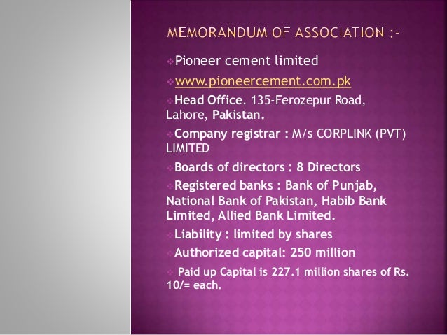 Berger paints pakistan limited fecto cement limited fauji - National bank of pakistan head office ...