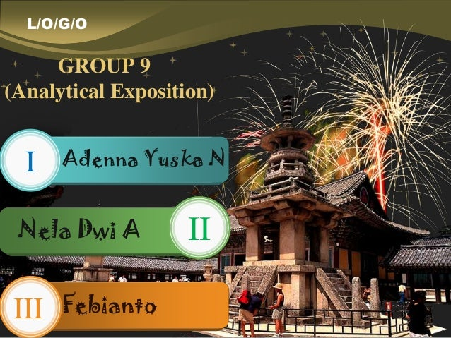 Group 9 Analytical Exposition