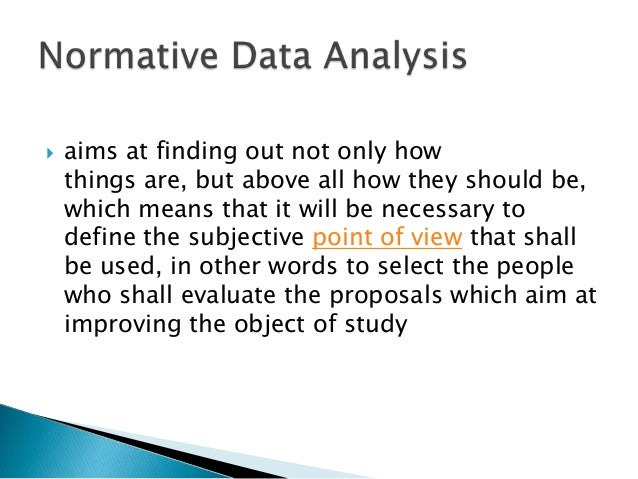 data analysis example
