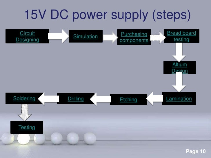 Variable Dc Power Supply Page 3