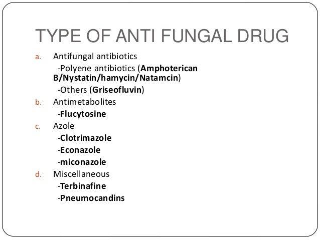 Anti-micro drugs
