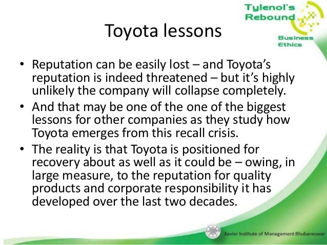 Case Study: Tylenol Poisonings