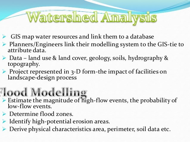 GIS and GPS - applications  in civil engg