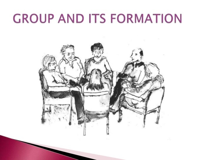    Aggregation of small number of persons who    work for common goals, develop a shared    attitude, are aware that they...