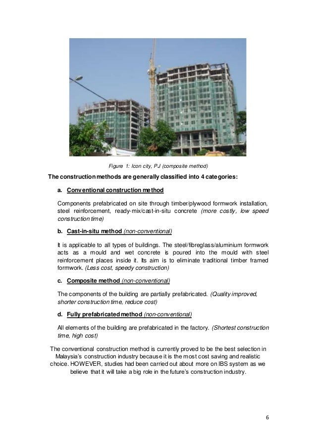 An overview of industrialized building systems construction essay